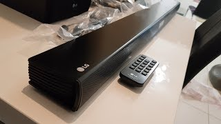 LG SH4D 2.1 Wireless Soundbar | Unboxing + Quick review