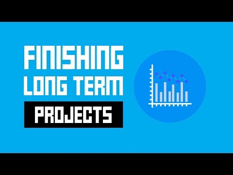Motivation For Game Developers  - 5 Tips To Finish A Long Term Game