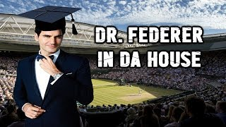Dr. Federer Lesson ● 10 SICK ways he can SURPRISE or FAKE you out (Pt.1)