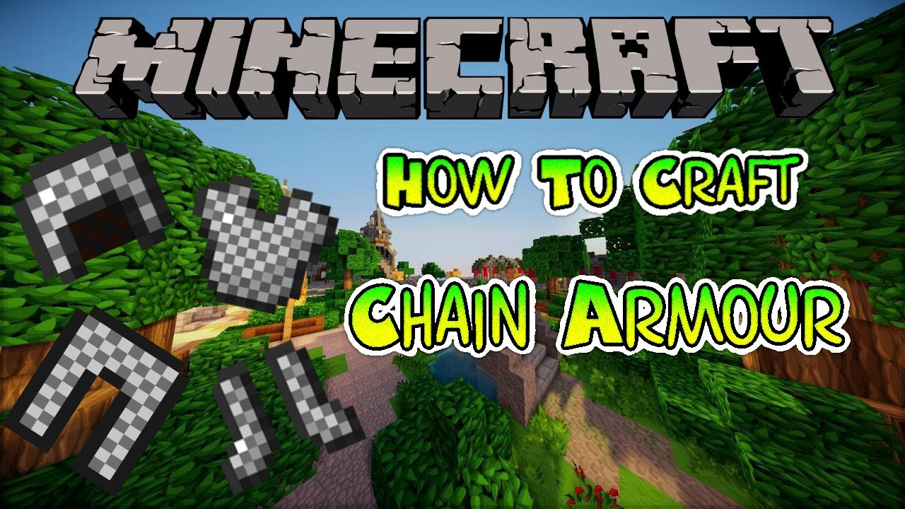 how to get chain armour in minecraft
