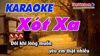 Xót Xa Karaoke 123 HD - Nhạc Sống Tùng Bách