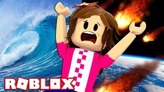 THE END OF THE WORLD IN ROBLOX!