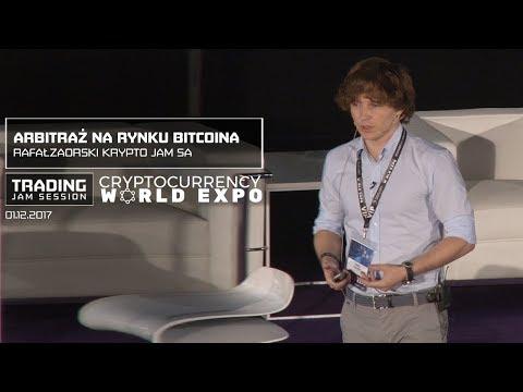 Arbitraż na rynku bitcoina - Rafał Zaorski, Krypto Jam SA