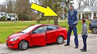 231Cm'lik Adamın Sedan Araba İle İmtihanı!