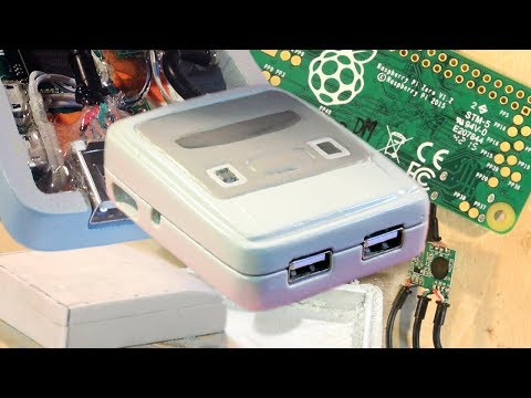 How to make your own 'SNES Micro' using a Raspberry Pi