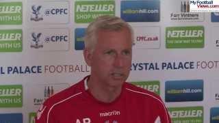 Alan Pardew: Crystal Palace not signing Tim Krul