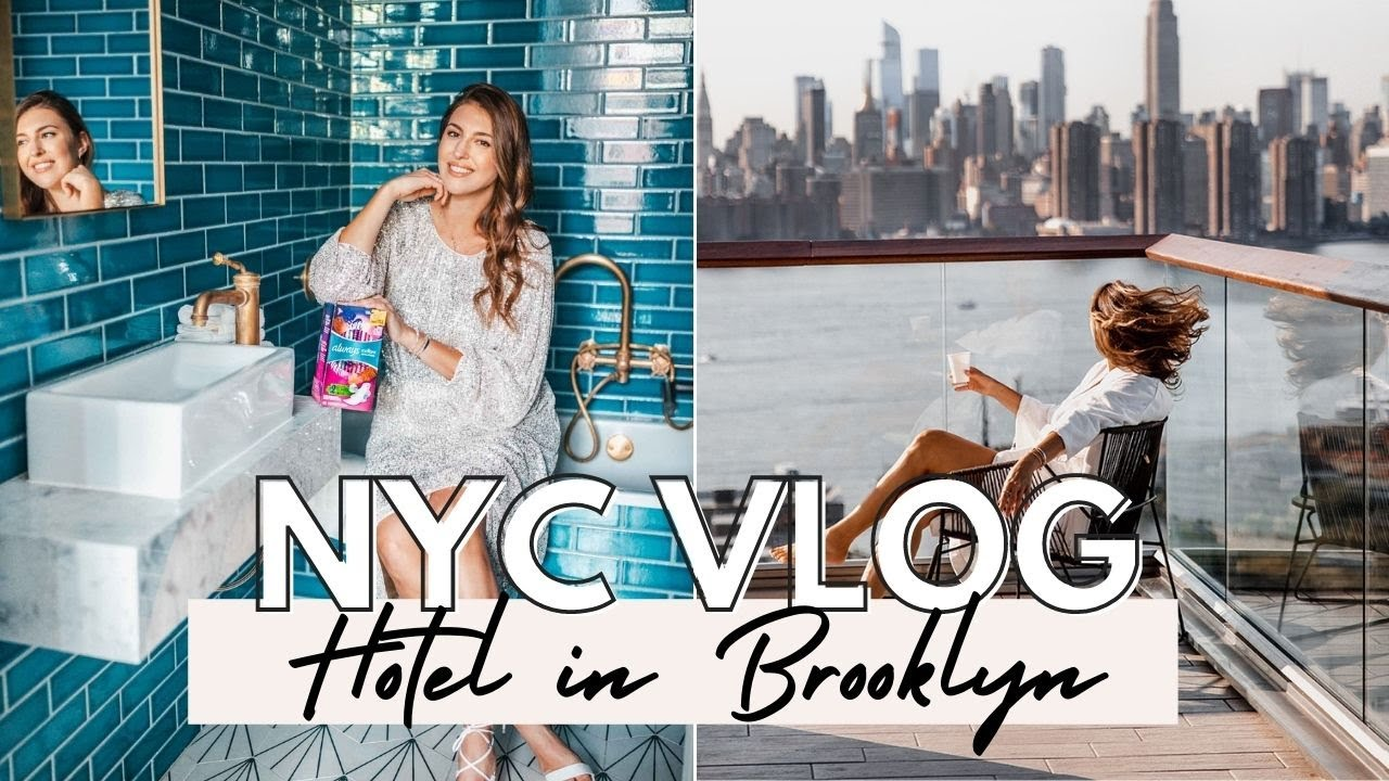NYC Vlog: Weekend in My Life, Shopping, Hotel Staycation, Campaign Photoshoot- Dana Berez