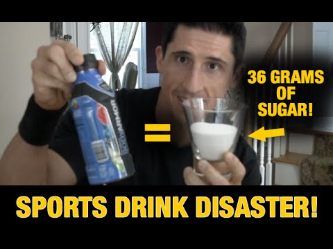 Sports Drink Disaster (HIDDEN SUGARS!!)