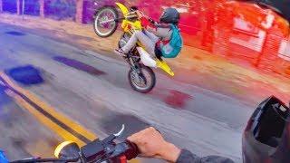 Dirt Bikers Vs Police 2018