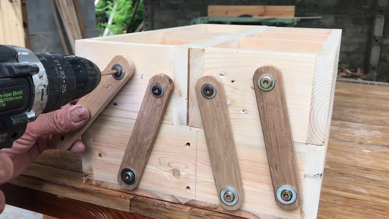 Great Woodworking Ideas // How To Make Toolbox Extremely Simple And Sure - DIY!