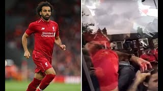 Trying to get an autograph and photo from Mo Salah