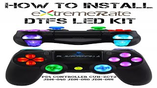 How To Install ExtremeRate PS4 Controller DTFS Led Kit (2020)