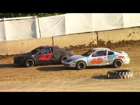 Mini Stock Heat Two | Old Bradford Speedway | 6-11-17