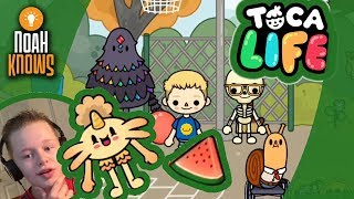 Toca Life: Minis (Toca Boca) ★ Gameplay Episode 12 ★ The First Day Of School