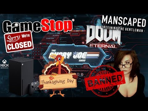 AJS News - Xbox Series X On Thanksgiving?, Doom .EXE, Gamestop Refuses To Close, Kaceytron Banned!