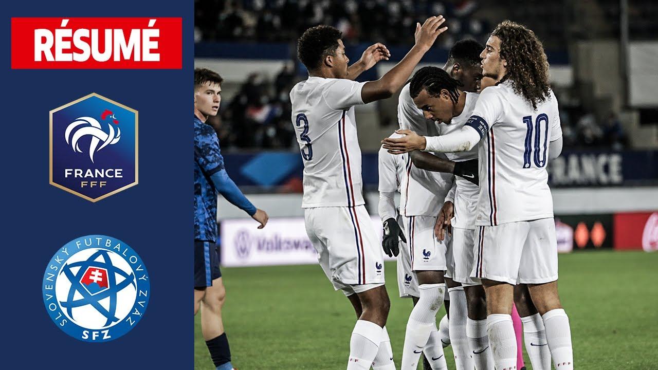 Франция U-21  1-0  Словакия U-21 видео