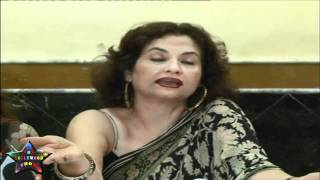 Press Cnfrence Salma Aaga Daughter Zarah Khan MMS   09