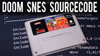 A closer look at the Super NES DOOM Source Code Release | MVG