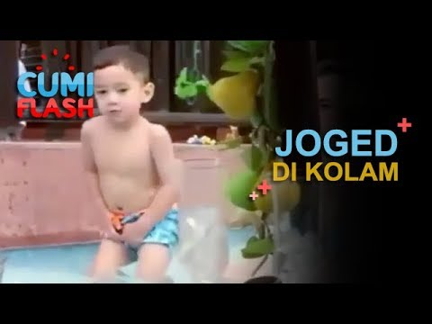 Joget Jarang Goyang di Kolam Renang, Rafathar Gokil Banget - CumiFlash 23 Januari 2018