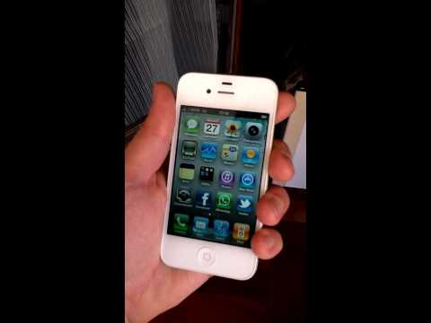 iPhone 4 White - Antennagate TEST | iSpazio.net