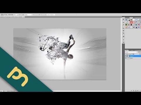 Adobe Photoshop CS5 Tutorial  -   Bild in Einzelteile zerfallen lassen (Fractured Image) [Deutsch]