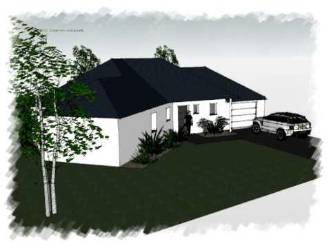 arteco 320 maison plain pied contemporaine