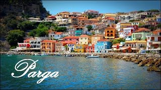 Parga Greece - Görögország(White houses, colorful windows, flowers on the ledges, red roof tiles. The narrow alleys of stairs, chairs in front of the houses, pleasant cacophony., 2015-03-02T17:31:42.000Z)