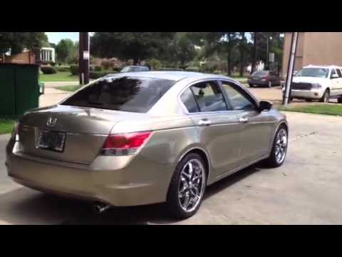 2008 Honda Accord On 20 S Youtube