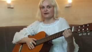 """Как играть песню ЛЮБЭ """" Ты неси меня река"""" на гитаре. Видеоурок для начинающих."""