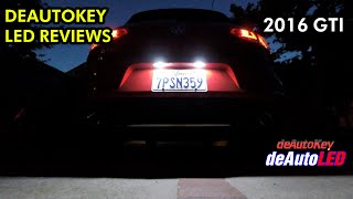 homepage tile video photo for deAutoKey License Plate and Footwell LED Review