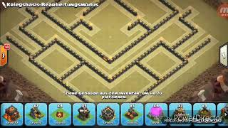 Clash of Clans #07 || Starke Rathaus 10 Clankrieg Base || Plekant