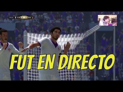 HUGO MARKER EN FIFA ULTIMATE TEAM EN DIRECTO | CR7 + LUIS SUAREZ + GARETH BALE JUNTOS !!!