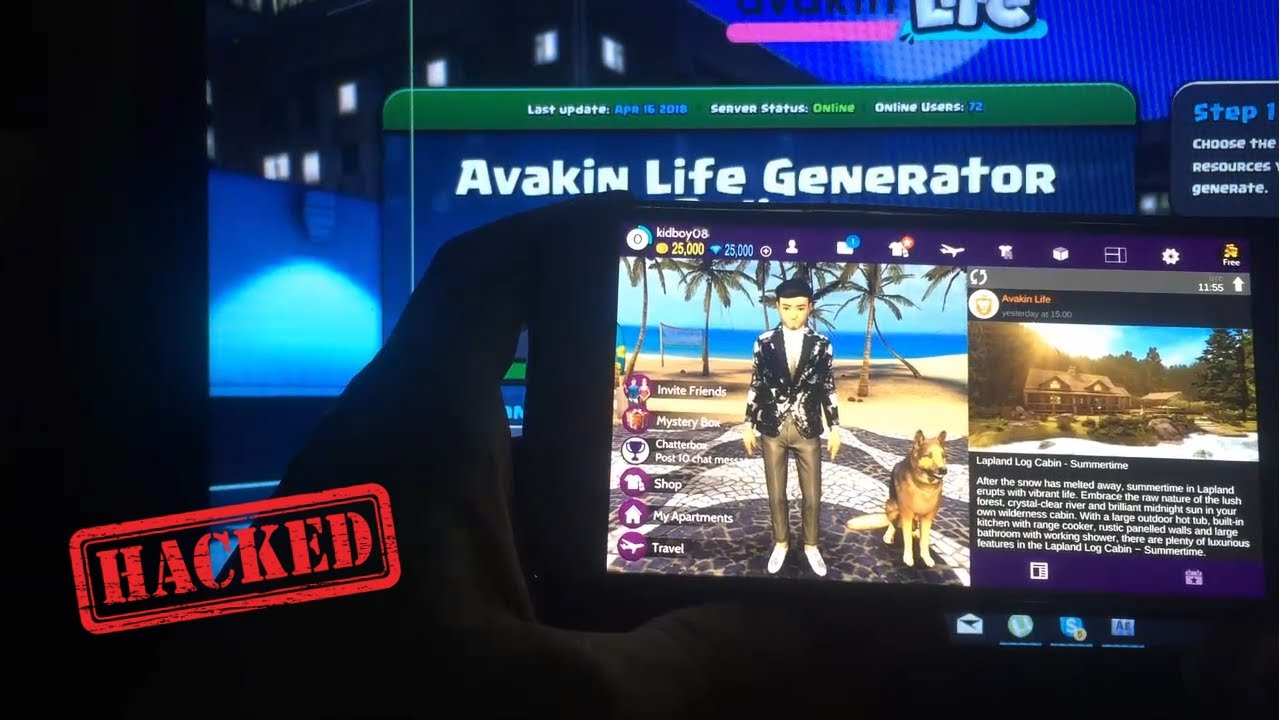 avakin life hack 2018 top