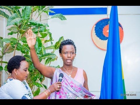 Rwakazina Marie Chantal yatorewe kuyobora Umujyi wa Kigali