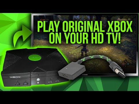 Connect Your Original Xbox To Flat-Screen TV's