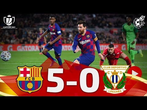 Barcelona Leganes Goals And Highlights