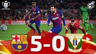 Resumen | Copa del Rey | FC Barcelona 5-0 CD Leganés