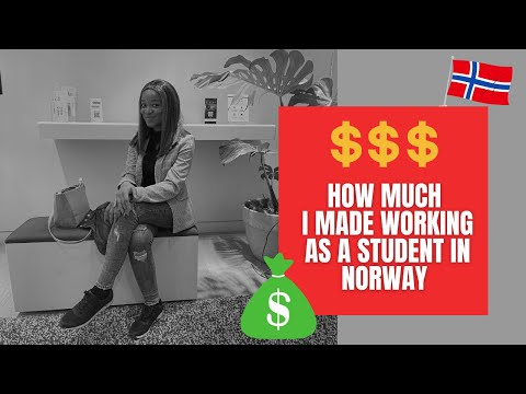 Download How much MONEY I made working as a student in Norway (type of job + taxes and much more!)