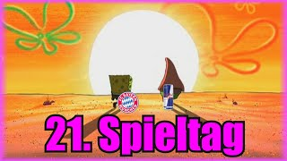 Bundesliga 21. Spieltag portrayed by Spongebob [Deutsch/German]