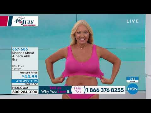 Rhonda Shear 4pack . http://bit.ly/2m1CRBO