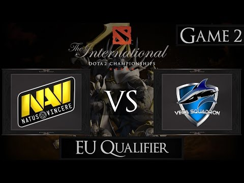 Dota 2 The International 2015 Na'Vi vs Vega Squadron