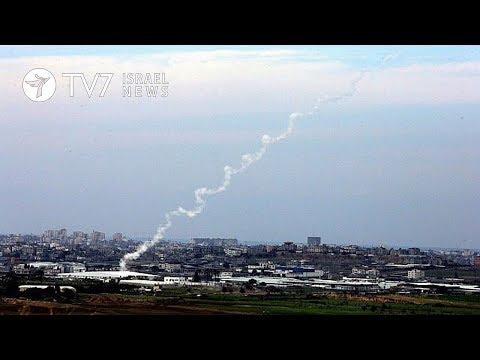 Palestinians fire rocket toward Israel, IAF retaliates - TV7 Israel News 2.2.18