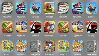 Troll Quest Video Memes,Troll Quest Video Game,Stampede,Snail Bob,Fruit Ninja,Super Brawl,Archery Z