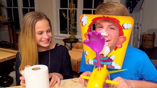 The Whipped Cream Challenge!  (MattyBRaps vs Liv)