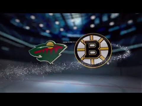 Minnesota Wild vs Boston Bruins - November 06, 2017 | Game Highlights | NHL 2017/18. Обзор матча