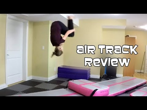 Air Track Review | Gymnastics With Bethany G | AirTrack Training Set - Home Edition