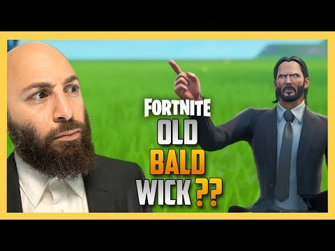 Old Bald John Wick in Fortnite? The REAL Wick is HERE | Swiftor