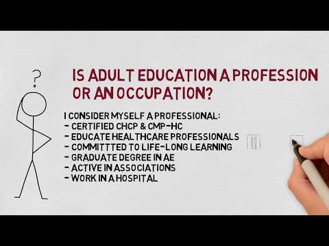 Is Adult Education a Profession or an Occupation?