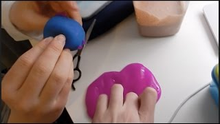 Vlog 405: Cutting Open Stress Toys!