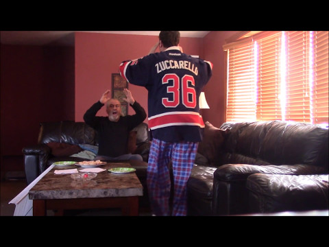 Rangers Fan Reaction - Game 5 - Rangers vs Sens (OT Reaction)